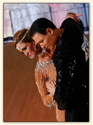 Dan Radler and Ballroom Dance Student