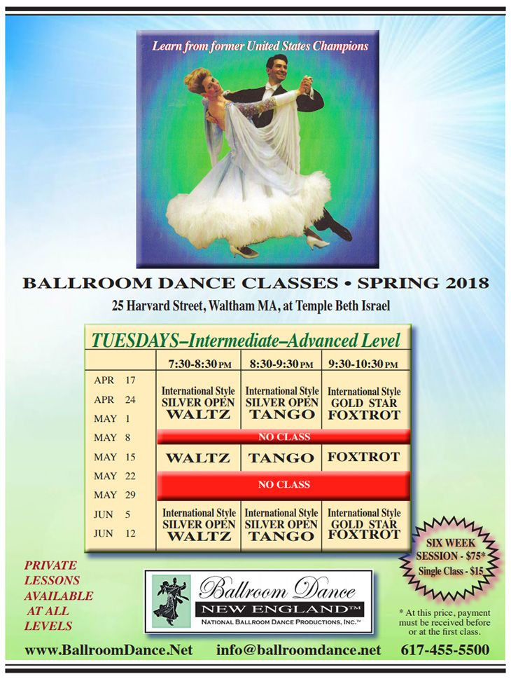 Intermediate ballroom dance lessons